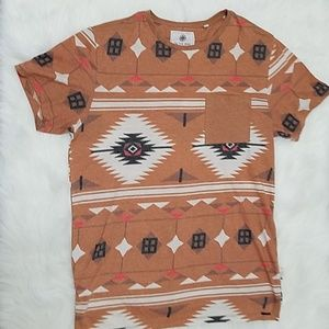 On The Byas Tee Brown Native Small